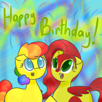 Happy Birthday, Ginger! by TastyPony