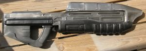 Halo 3: Assault Rifle by JarmanProps