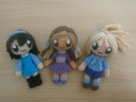 Total Drama Kids Amigurumi by Kikaigaku