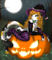 Pumpkin Mistress by Ira-WratH