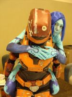 Cortana and Noble 6 by Awryfire
