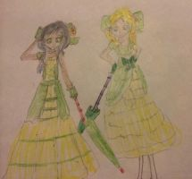 The Ozian Beauticians, Annie and Elsa by Amphitrite7