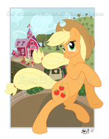 Applejack Poster by ClutterCluster