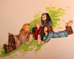 Braiding the Hobbit by ArtofSarahBeth