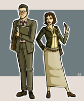 Giles and Jenny by aliceazzo