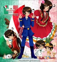 HTMR: Mexico bicentenary by nennisita1234