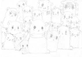 Axis Powers Hamtaro...? by TacoDao