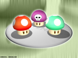 Mario Shrooms by Kritter5x
