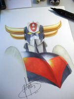 Goldorak / Grendizer by golgoth71