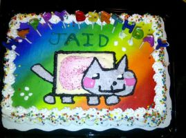 The Cake :) by Hallowfoot