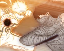 Naruto vs Ichigo by TheALM