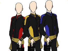 Star Trek Mae Uniforms (w/Collars) by LLAP