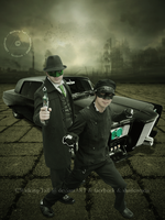 Green Hornet and Kato by Walking-Tall