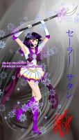Super sailor saturn by de-loz