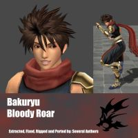 Bakuryu Bloody Roar by Adngel