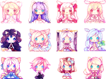 First pixel group by Yamio