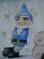 Gnomeo by vegetarian-artist