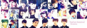 SuperJunior ICONS by DuD1997
