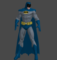DCUO: Batman 70's Costume. by Jckspacy