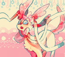 is this wht sylveon looks like i dont remembr lmao by ScarfFetish