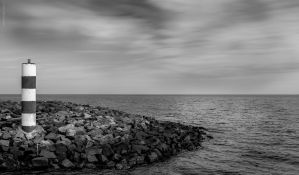 Black & White Rocks by Craig-PhotoWork