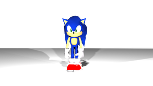(3DS Max) DreCas Sonic by RedShadowII