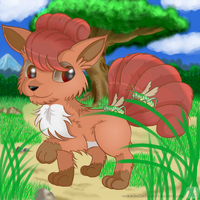 Vulpix by SwanLullaby