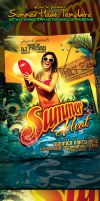 Summer Heat Flyer Template by yAniv-k