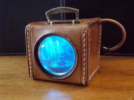 Steampunk Foglight by OneWeeb