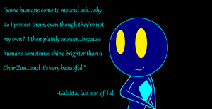 Galakta quote by Arrowman64