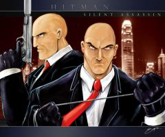 Hitman by Sw-Art