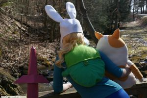 Fionna The Human:  It's Been A Long Day by HarleyTheSirenxoxo