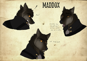 Maddox headshots by DinoMatt24