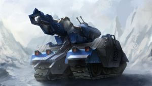 Arctic tank by FynchMartell