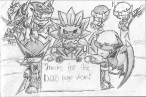 10,000 Views Kiriban by cutejana17