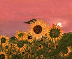 Sunflower No.3 by pensive-painter
