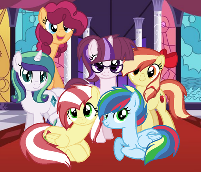 Mane Six Mlp Next Gen by 6FigersLoverEver