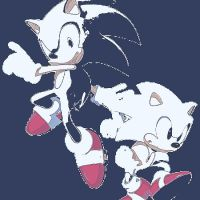 Sonic the Hedgehog pop art 3 by DevintheCool