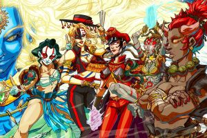 Street Fighter - The New Challengers by raging-akujiki