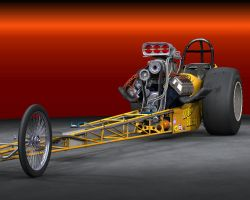 Top Fuel Dragster by MONFOODOO