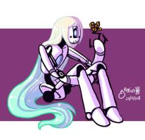 Robot Girl by Yamino