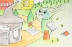 The Gray House III - children book ilustration by sanntta82