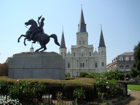 Jackson Square, New Orleans by Phido-the-flareon