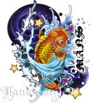 Koi tattoo by Yankeestyle94