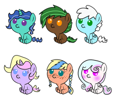 Foal Adopts #1 (1 left) by MartyMurray