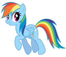 Rainbow Dash Vector [2] by GlessMLP