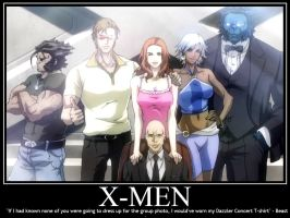 X-men Group Photo by Sailmaster-Seion