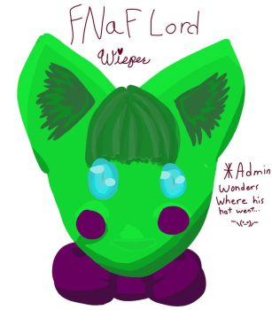 fnaf lord?? by WisperWillowdraws