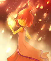 Flame Princess by AdventureWoot