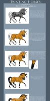 Greyscale Horse Tutorial Pt.2 by RejectAll-American